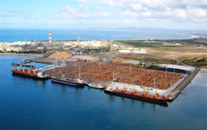 Northport offers three berths for unloading cargo to Northland, New Zealand